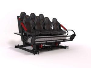 VR motion simulator ride - Turbo Ride 7 - Bmotion Technology