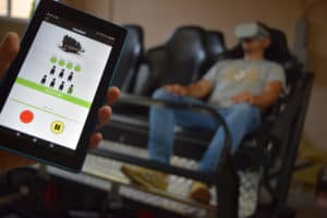 Turbo Ride - VR motion simulator control app