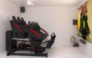 VR simulator motion ride - Turbo Ride 7 - Bmotion Technology