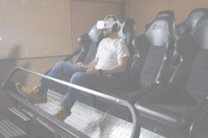 Motion simulators VR. Location-based VR entertainment solution.